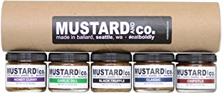 Mustard & Co. Five Flavor Gift Set - Gourmet Mustard Sampler