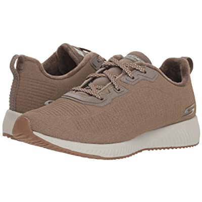 BOBS from SKECHERS Bobs Squad Team Bo (Dark Taupe) Women