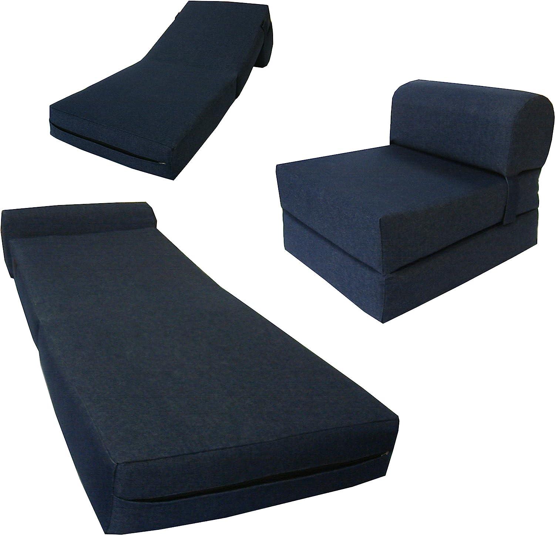 DD Futon Furniture Chair Folding 2021 Foam Bed Guest Sofa Fo Studio Max 79% OFF