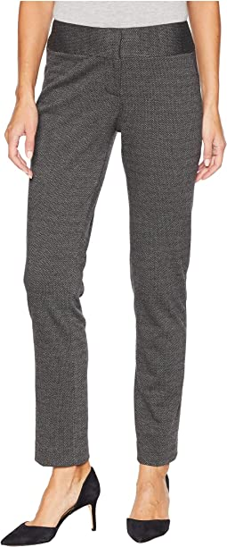 Melange Herringbone Ankle Pants