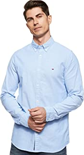 Tommy Hilfiger Core Stretch Slim Oxford Shirt Chemise Casual Homme
