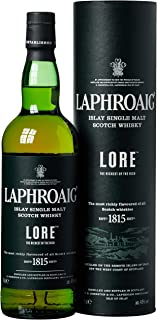 Laphroaig Lore Islay Single Malt Scotch Whisky, mit Geschenkverpackung, reich und tiefgründig mit einzigartigem Torfrauch, 48% Vol, 1 x 0,7l