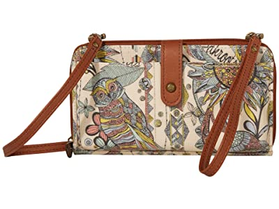 Sakroots Artist Circle Large Smartphone Crossbody (Sunshine Spirit Desert 1) Clutch Handbags