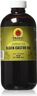 Tropic Isle Living Jamaican Black Castor Oil 8 oz (Pack of 6)