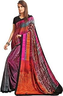 Jaanvi fashion Womens Crepe Silk Printed Saree (celebration-7702-c)