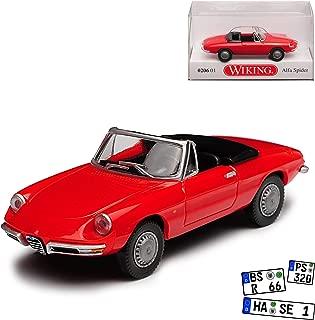 Alfa Romeo Spider Cabrio Blau Türkis 3 Generation 1983-1989 limitiert 1 von 7..