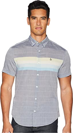 Original Penguin Short Sleeve Engine Stripe