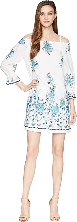 Off Shoulder Embroidered Dress CD8G11HX