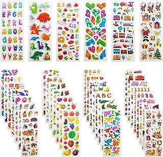 Leenou Pegatinas para Niños, 950+ 3D Puffy Sticker Variedad