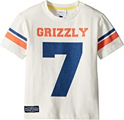 Toobydoo - Sports Jersey Grizzly Tee (Toddler/Little Kids/Big Kids)