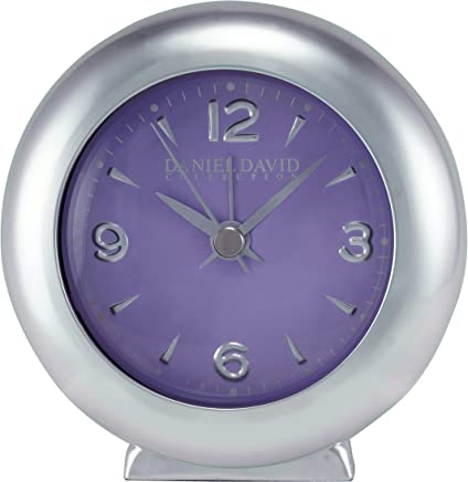 Daniel David | Purple Decor Aluminium Alarm Clock | BA0002