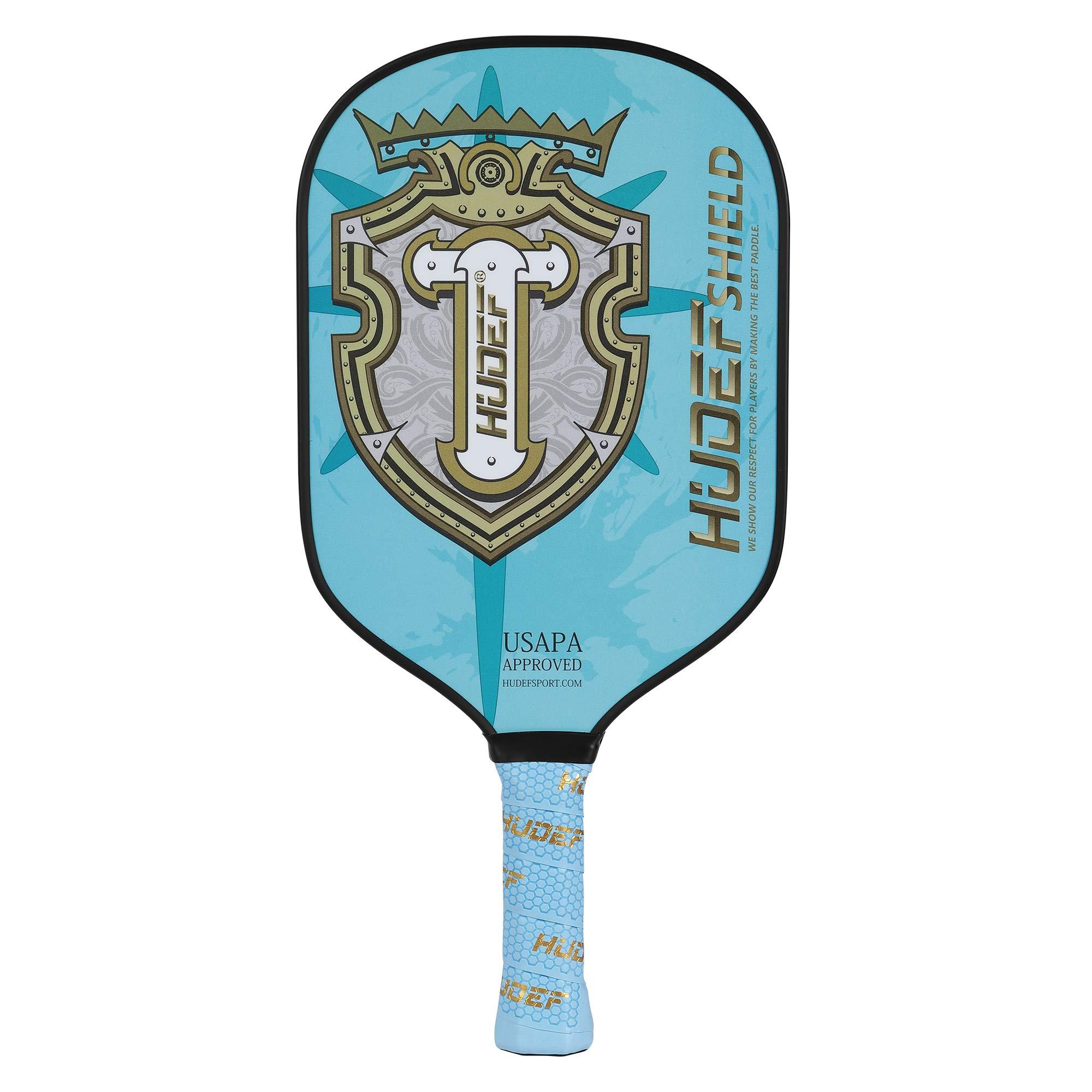 HUDEF Pickleball Paddles Racket Graphite Carbon Fiber  -TQN1