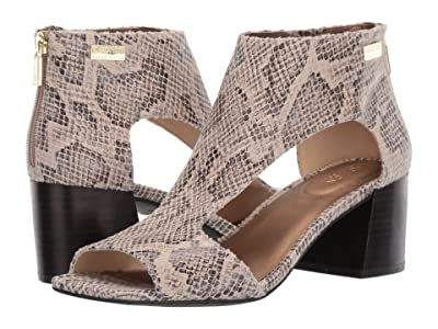 Kenneth Cole Reaction Mix Cut Out Sandal (Taupe Multi) Women