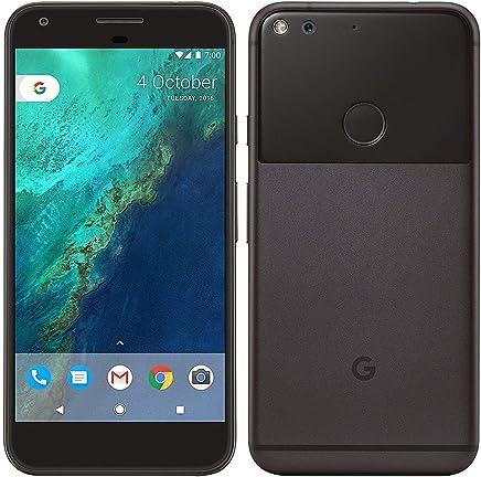 Google Pixel XL, Verizon Wireless + GSM unlocked 128GB, Quite Black (Renewed)