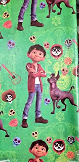 Coco Movie Day of The Death Wrapping Wrap Paper 2-Sheets Party Gift Decoration …