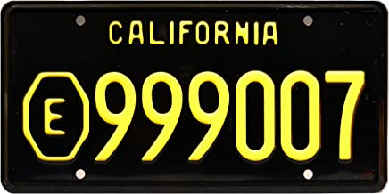 Emergency TV Show | E999007 | Metal Stamped License Plate