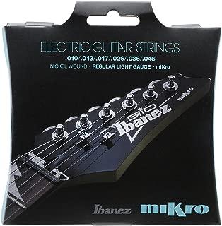 Ibanez IEGS61MK Super Light Electric Guitar Strings–Nickel Wound Strings 010-046)