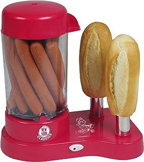 Tkg Kalorik HDM 1001NYC Appareil à Hot-Dogs Chauffe 1 à 2 Pains et 1 à 12 Saucisses en Moins de 8 Minutes