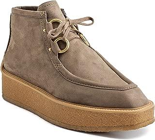 Stella McCartney Women's Suede Tlingit Sneaker Shoes Cigar Brown