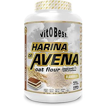 Harina de Avena Sabores Variados - Suplementos Alimentación y Suplementos Deportivos - Vitobest (Chocolate, 2 Kg): Amazon.es: Salud y cuidado personal