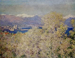 Antibes - View of the Salis Gardens by Claude Monet - 20