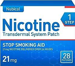 Nubical Nicotine Patches Step 1 to Quit Smoking,Stop Smoking Aid That Work,21mg Nicotine,Anti-Smoking Patch,28 Patches,14 ...