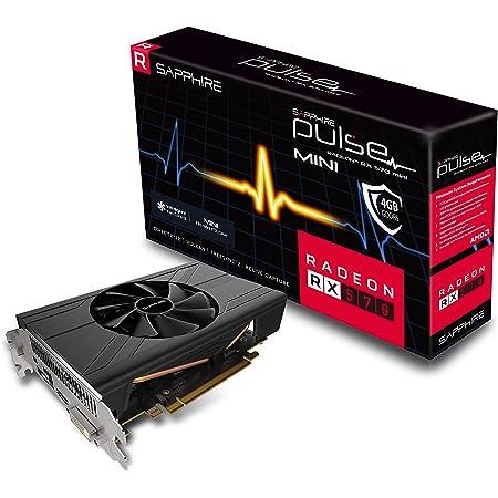 Sapphire 11266-06-20G Radeon Pulse RX 570 ITX 4GB GDDR5 HDMI / DVI-D / DP (UEFI) PCI-E Graphics Card