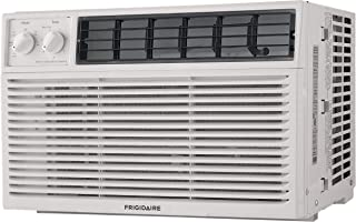 FRIGIDAIRE 10,000 BTU 115V Window-Mounted Compact Air Conditioner with Mechanical Controls, White,