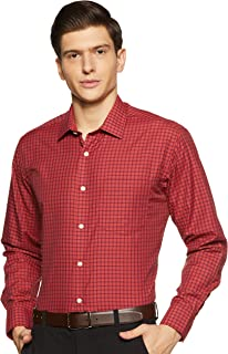 Amazon Brand - Symbol Men's Regular Fit Formal Shirt