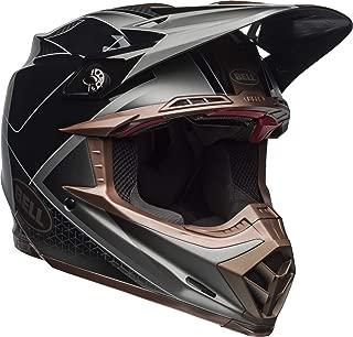 Bell Moto-9 Flex Off-Road Motorcycle Helmet (Hound Matte/Gloss Black/Bronze, Large)
