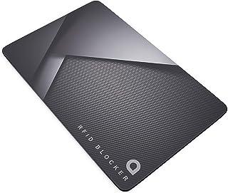 Eighty Porte-cartes de cr/édit en fibre de carbone RFID Blocage de cartes de cr/édit avec pince /à billets en m/étal Pour homme Slim en m/étal Porte-cartes de cr/édit