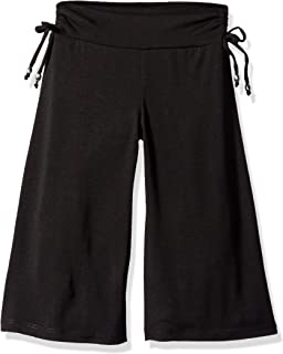 Girls' Soft Knit Wide Leg Gaucho Pants