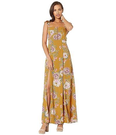 Flynn Skye Bardot Maxi Dress (Golden Hour) Women
