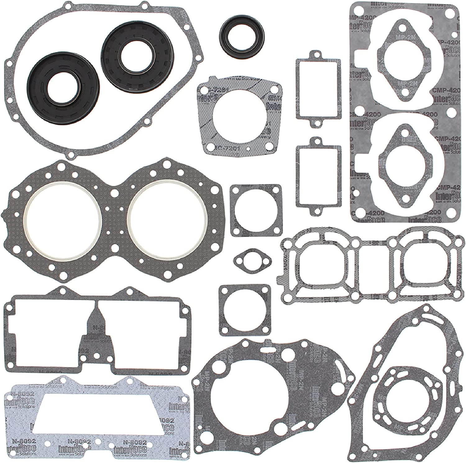 New Winderosa Gasket Kit With Large-scale sale Oil Yamaha 700 Wave for Seals Runn 55% OFF