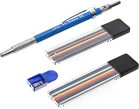 Leda Mechanical Colored Pencil set with two cases of colored lead and sharpener for drawing and sketching.
