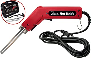 Zega 200 Watt Styrofoam Cutter – Professional 110V Electric Hot Knife & Complete Styrofoam Cutting Kit w/Blades & Accessories
