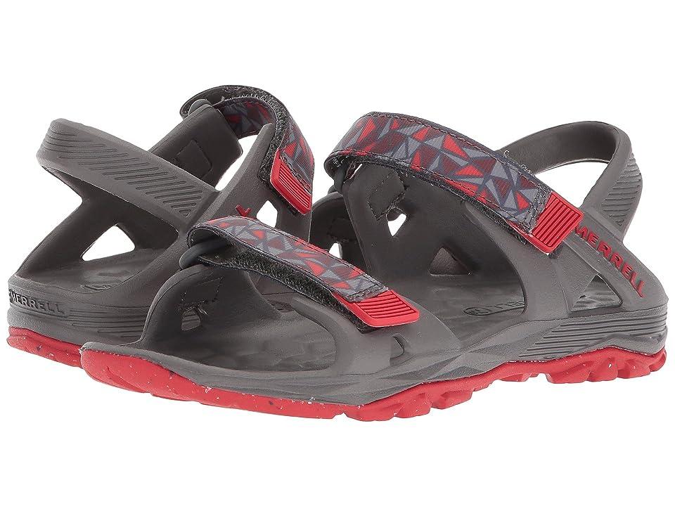 Merrell Kids Hydro Drift (Toddler/Little Kid/Big Kid) (Grey/Red) Boys Shoes