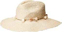 Hat Attack - The Harbor Fringed w/ Mini Pom & Cord Trim