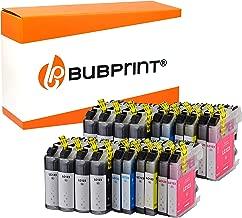 Bubprint 20 Druckerpatronen kompatibel für Brother LC-123 LC123 für DCP-J132W MFC-J4510DW MFC-J470DW MFC-J6520DW MFC-J6720DW MFC-J6920DW MFC-J870DW