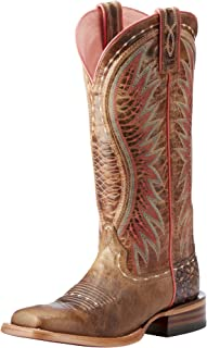 ariat vaquera cowgirl boots square toe