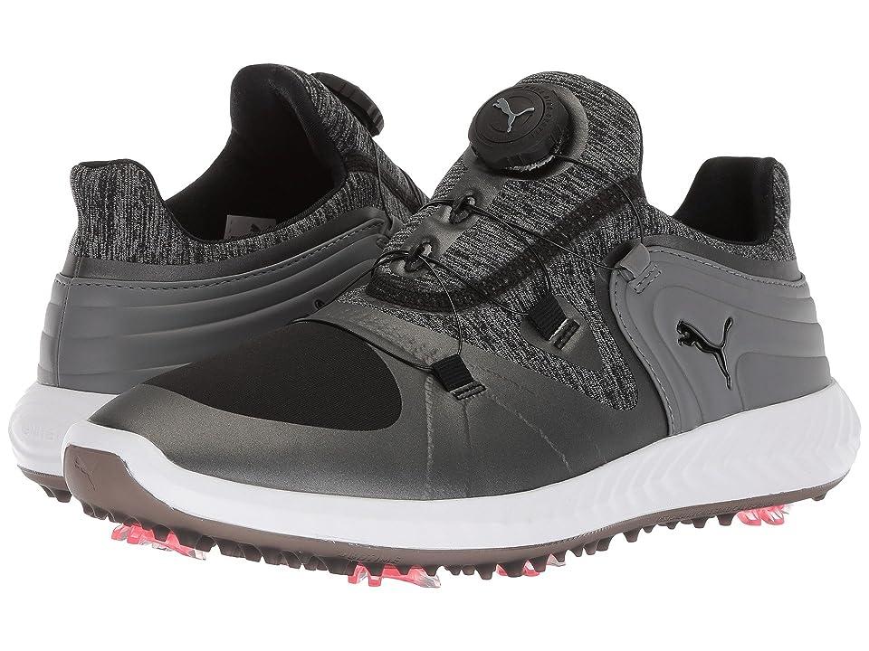 PUMA Golf Ignite Blaze Sport Disc (Puma Black/Steel Gray) Women