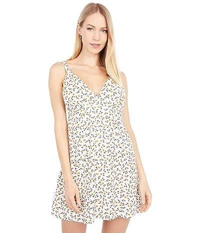 RVCA Mellow Dress (Off-White) Women