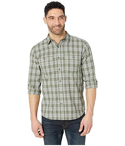 Royal Robbins Vista Dry Plaid Long Sleeve Shirt (Loden) Men