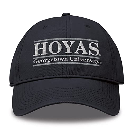 2d6ce71f3112d The Game Georgetown Hoyas Adult NCAA Team Color Bar Logo Adjustable Hat -  Navy