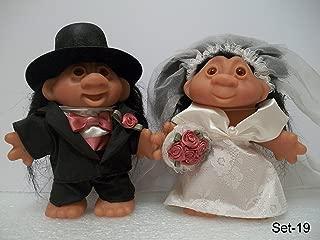 Dam Troll Dolls - Wedding - Groom and Bride