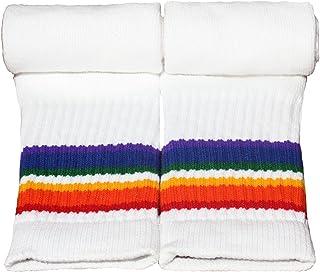 Knee High Rainbow Tube Socks 22-2