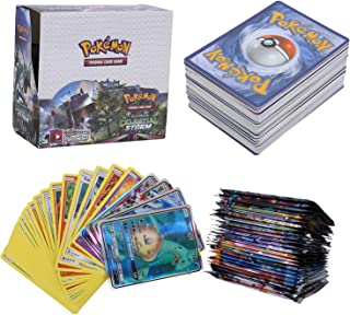 324Pcs Pokemon Cartes, Pokemon 36Pcs GX Cards, Sun & Moon Series, Celestial Storm Series