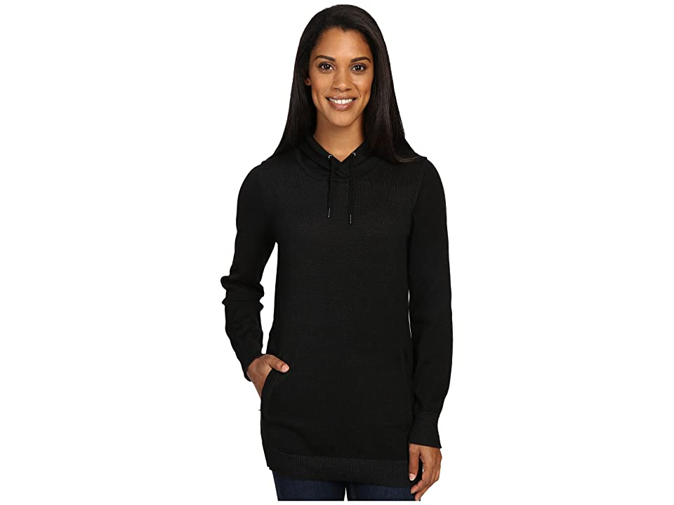 ExOfficio Milena Hoodie Tunic (Black Heather) Women
