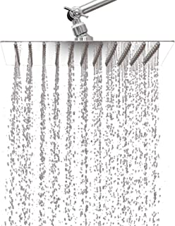 curved shower head extension