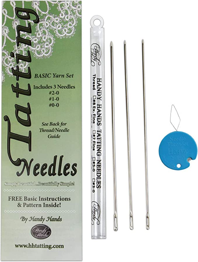 Handy Hands Tatting Needle For Thread-#8 Extra Fine Set Of 1